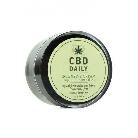 Earthly Body CBD Daily Concentrated Cream - 1.7 oz