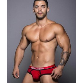 Andrew Christian CoolFlex Brief with Show-It - Red