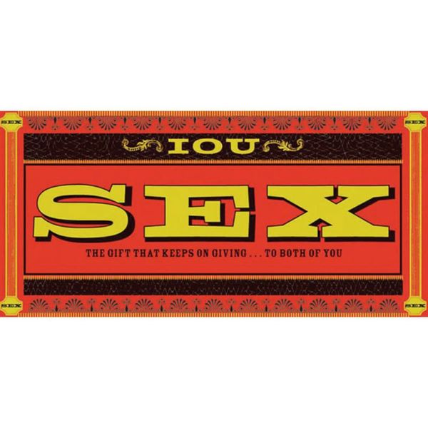 IOU Sex Coupons