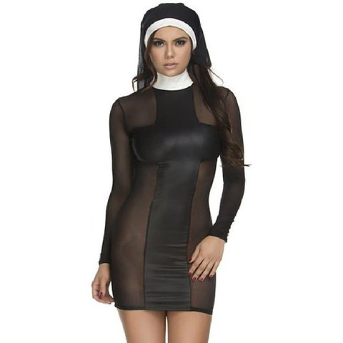 Pray For Me Sexy Nun Costume