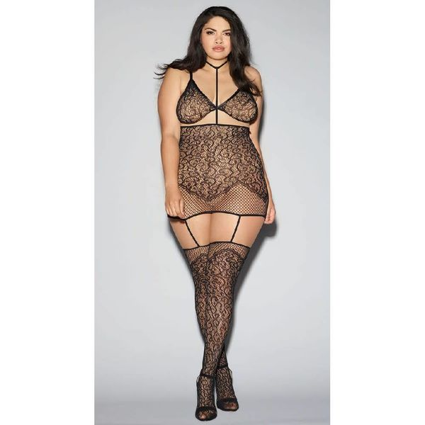 Dreamgirl Convertible Harness Bodystocking