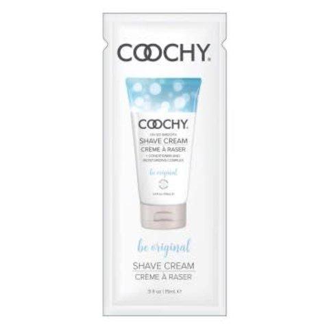 Coochy Shave Cream - Be Original -  15 ml Foil