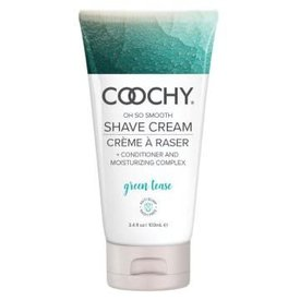 Coochy Shave Cream - Green Tease - 3.4 oz