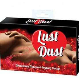 Lust Dust Strawberry Popping Candy