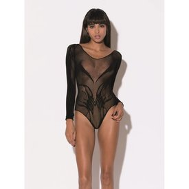 Hauty Katsu Bodysuit Black - One Size