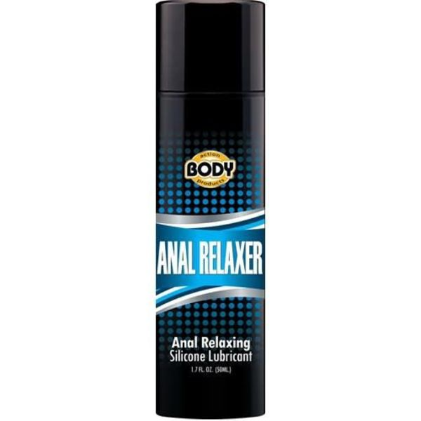 Body Action Anal Relaxer  Silicone Lubricant - 1.7 Oz.