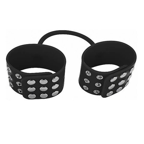 Silicone Cuffs - Black