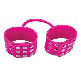 Shots Silicone Cuffs - Pink
