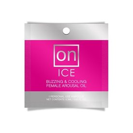 On For Her Ice Arousal Oil 3ml Ampoule Packet