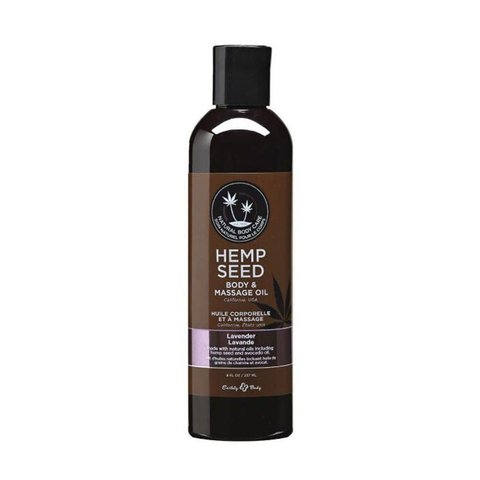 Lavender Hemp Seed Massage Oil  - 2 Oz.