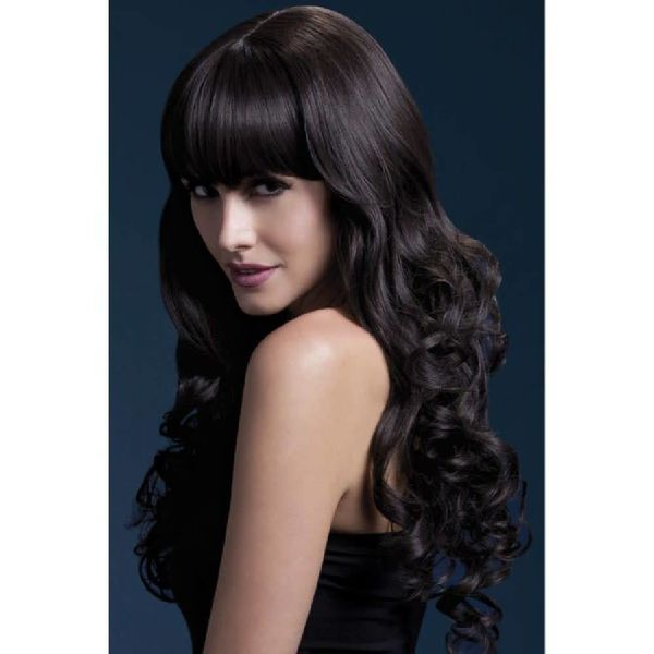 Fever/Smiffys Isabelle Wig - Brown