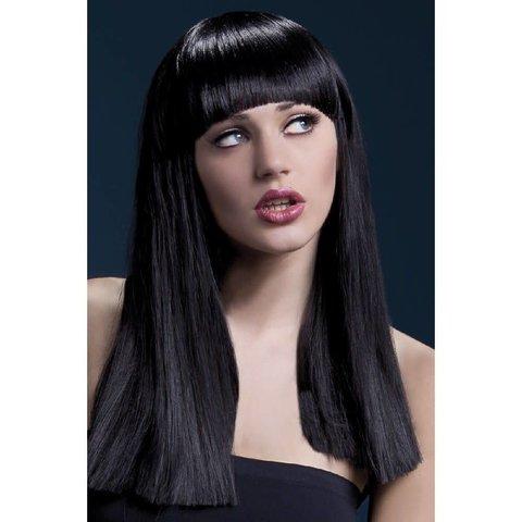 Alexia Wig Long Blunt Cut - Black