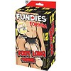 Fundies Foot Long Thong with Ruler - One Size Fits Most