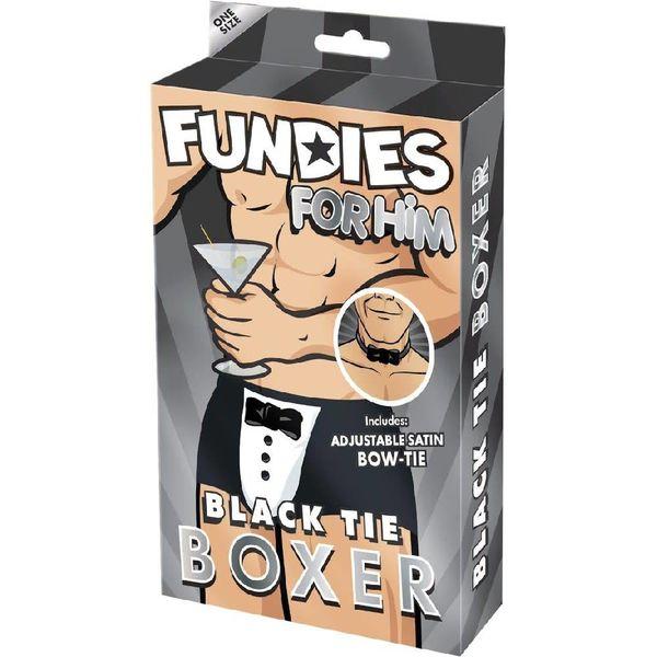Envy Fundies Black Tie Boxer - One Size Fits Most