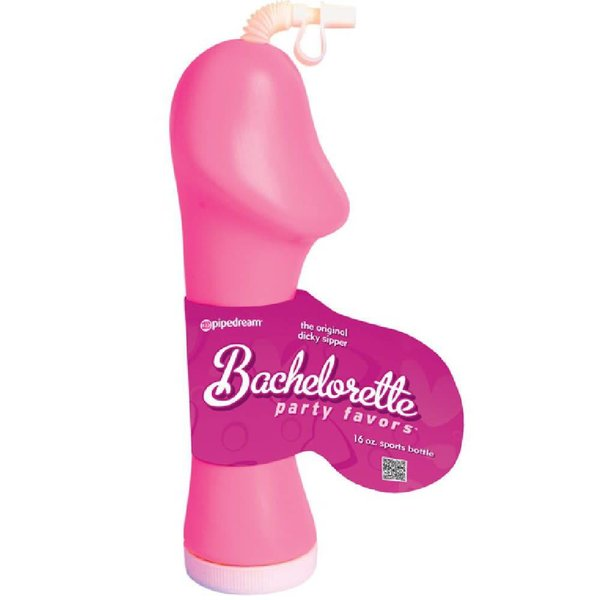 Pipedream Bachelorette Party Favors Dicky Sipper - Pink