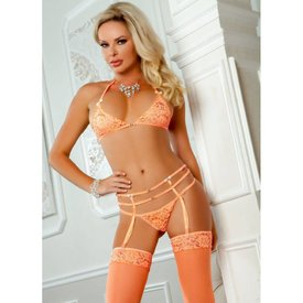 G World  Intimates Sexy Garter 3-piece Panty Set - One Size