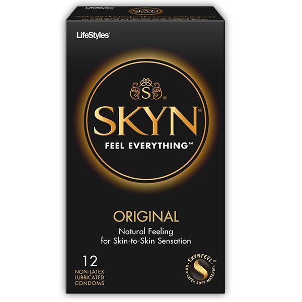 Skyn Non-Latex Condom 12-pack