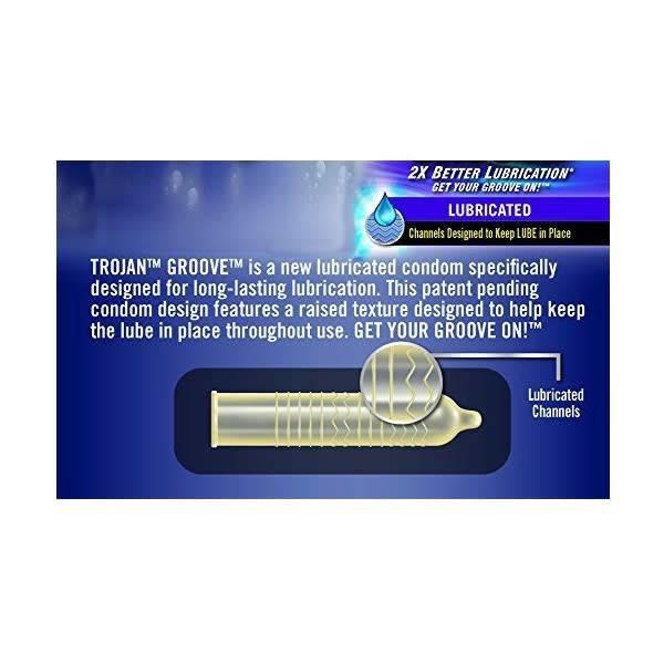Trojan Trojan Groove Condom 10-pack