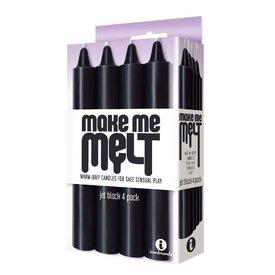 Make Me Melt - Jet  Black 4 Pack