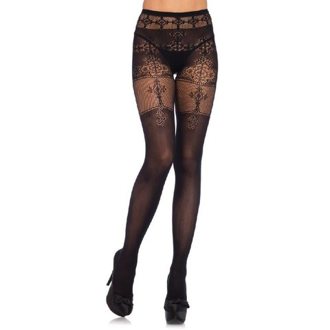 Filigree Net Tights