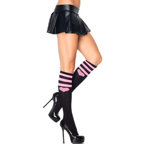 Sweetheart Athletic Knee High Socks