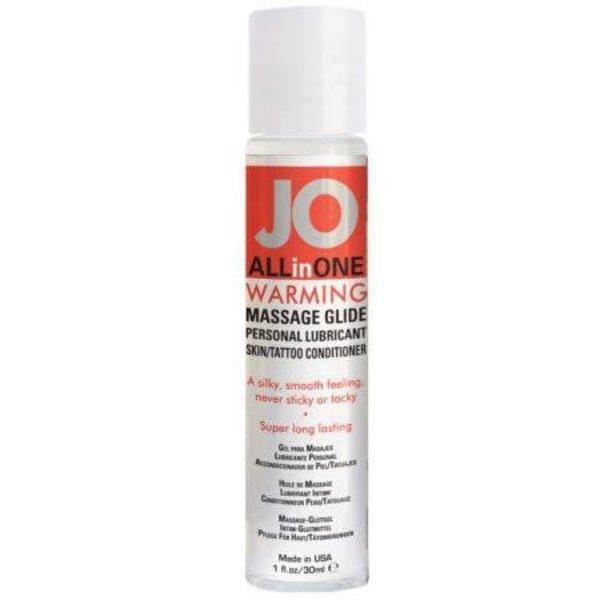 System Jo Jo All in One Massage Glide  Warming - 1 Oz.