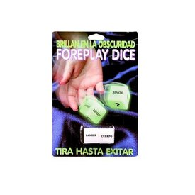 Pipedream Foreplay Dice - Spanish Version