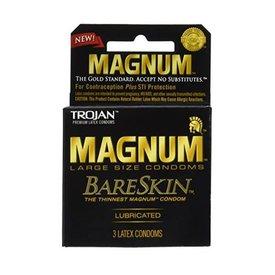 Trojan Trojan Magnum Bareskin Condom 3-pack