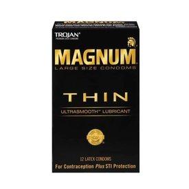 Trojan Trojan Magnum Thin Condom 12-pack