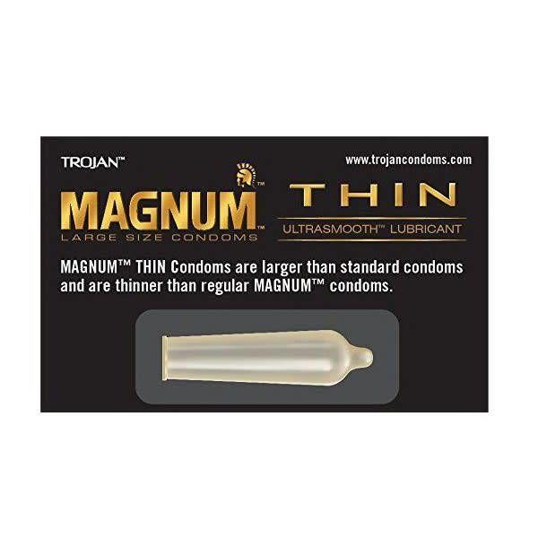 Trojan Trojan Magnum Thin Condom 3-pack