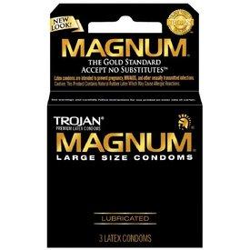 Trojan Trojan Magnum Condom 3-pack