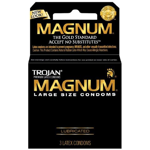 Magnum Condom 3-pack