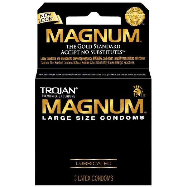 Trojan Magnum Condom 3-pack