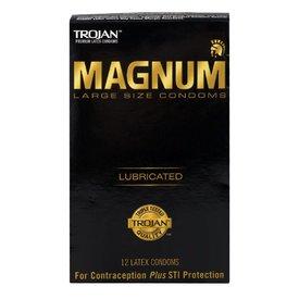 Trojan Trojan Magnum Condom 12-pack