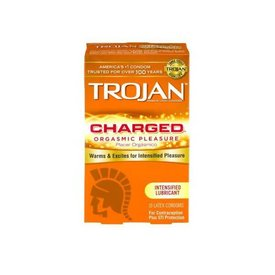 Trojan Trojan Intensified Charge Condom 10-pack