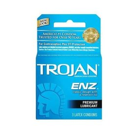Trojan ENZ Lubricated Condom 3-pack