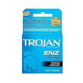 Trojan Trojan ENZ Lubricated Condom 3-pack