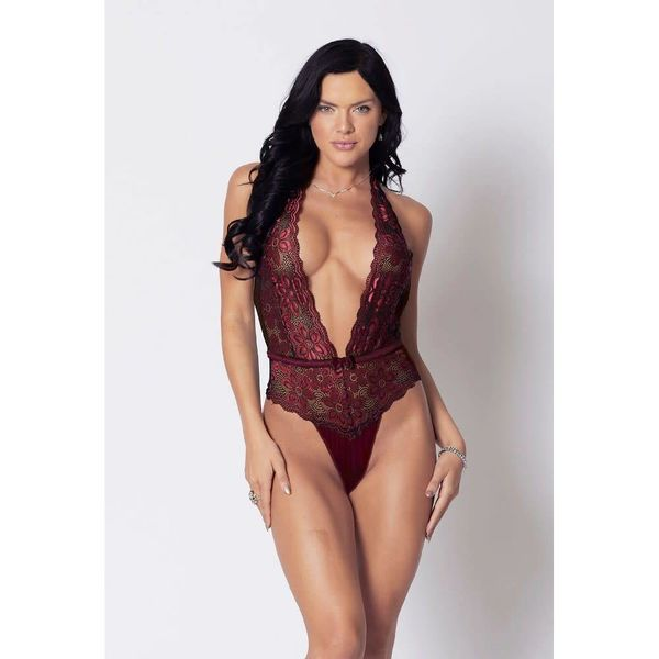 iCollection Arlez Lace and Microfiber Teddy