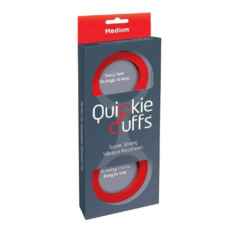 Quickie Cuffs Red - Medium