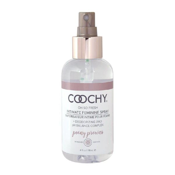 Coochy Intimate Feminine Spray Peony Prowess 4oz