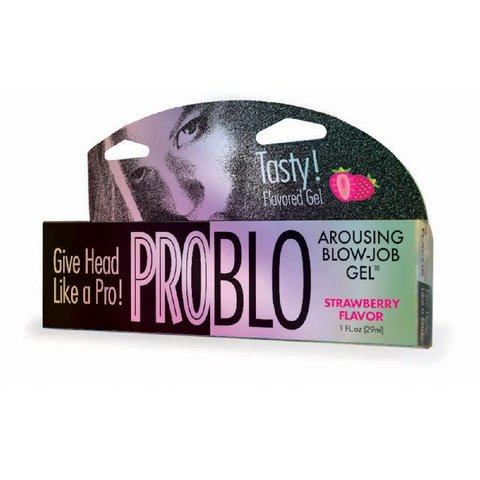 ProBlo Strawberry Oral Pleasure Gel 1.5oz