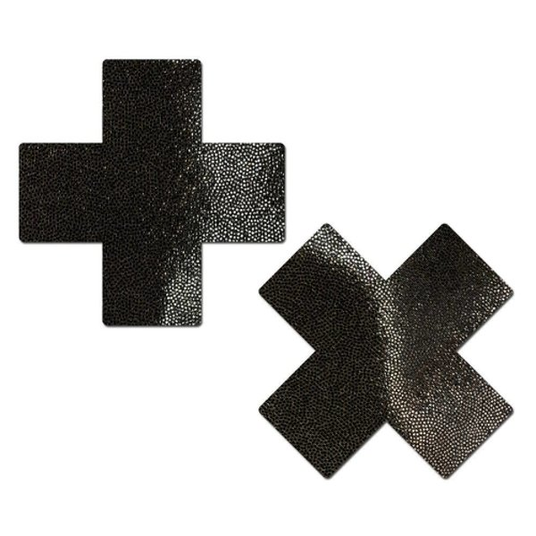 Pastease Liquid Black Cross Reusable Pasties