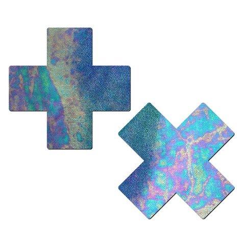 Liquid Acid Blue Cross Pasties