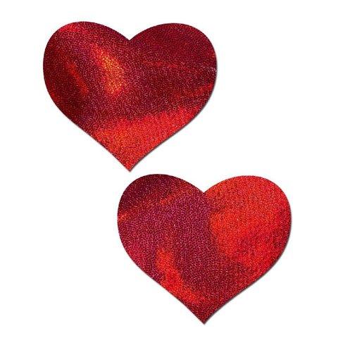 Liquid Red Heart Reusable Pasties