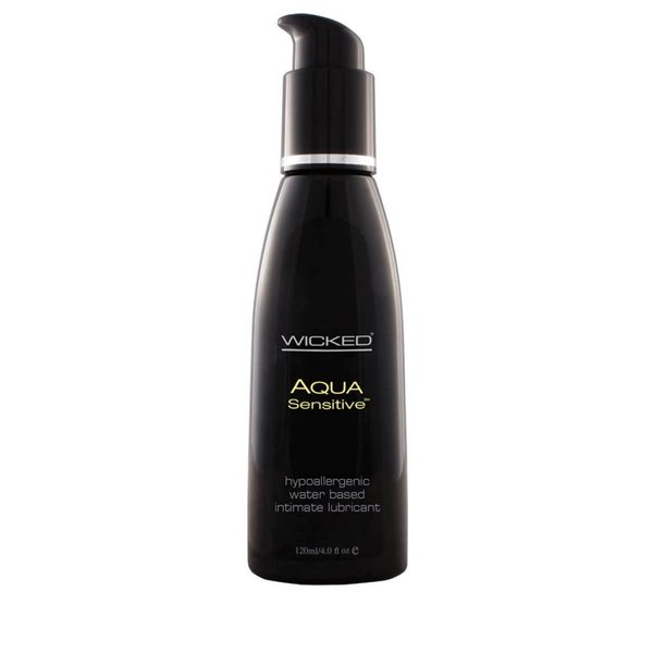 Wicked Wicked Aqua Sensitive Lubricant - 4oz