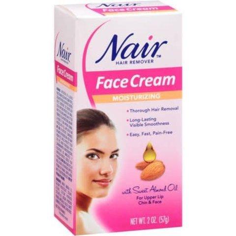 Hair Removal Face Cream - 2oz