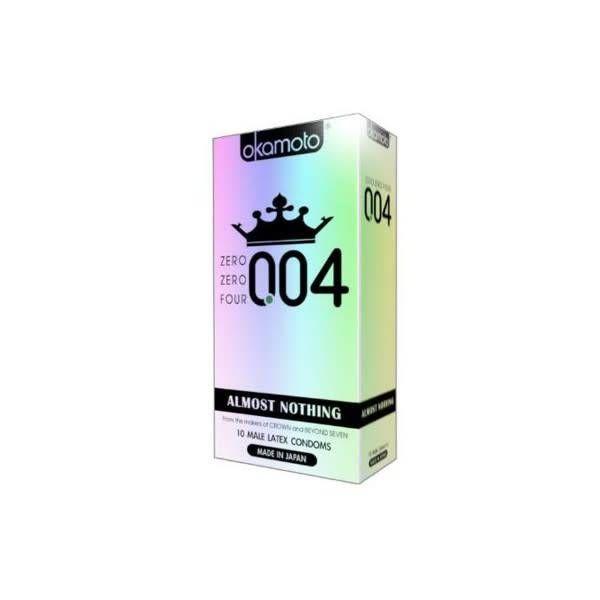 Okamoto 004 Condom 10-pack