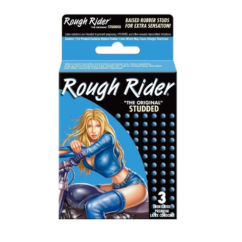 Studded Condom 3-pack