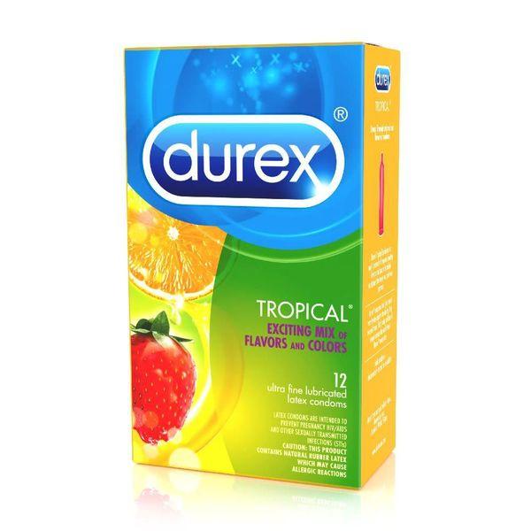 Tropical Flavors Condom 12-pack