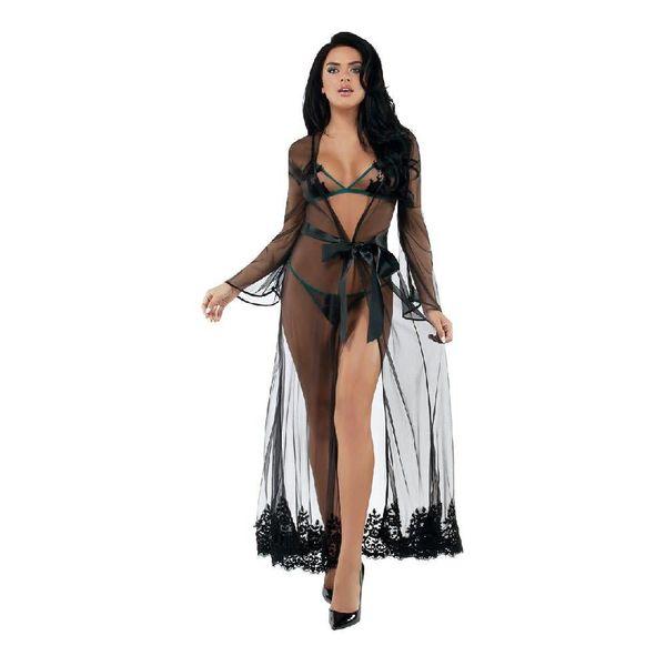 Starline Feminine Mistique Floor Length Robe